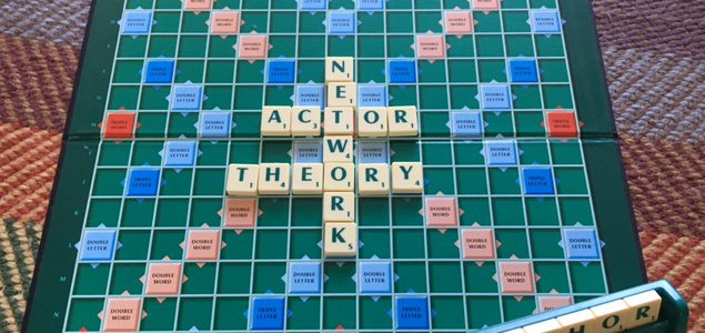 Metaphorically speaking: Word play in Actor Network Theory