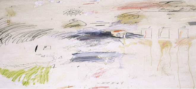 """""""Untitled"""" by Cy Twombly 1960"""